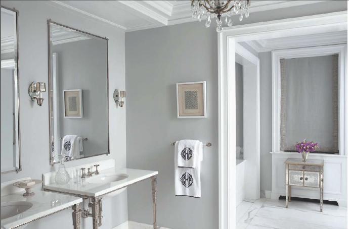 墙漆客厅浅灰色效果图
